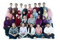 Top (L-R): Irul, Yayan, Dani, Yeye, Adrian, Rizki, Rian, Febryan Upper (L-R): Yetty, Mida, Yulia, Ika, Meta, Nanik, Dewi, Rizka Lower (L-R): Desi, Desy, Zarra, Ir. Minta, Prof. Heru, Ifah, Ilmi, Ririn Bottom (L-R): Yudis, Ardya, Junita, Intan, Reyhan