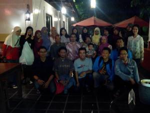 Buka puasa bersama di RM Dewa Rasa (19 Juli 2013)
