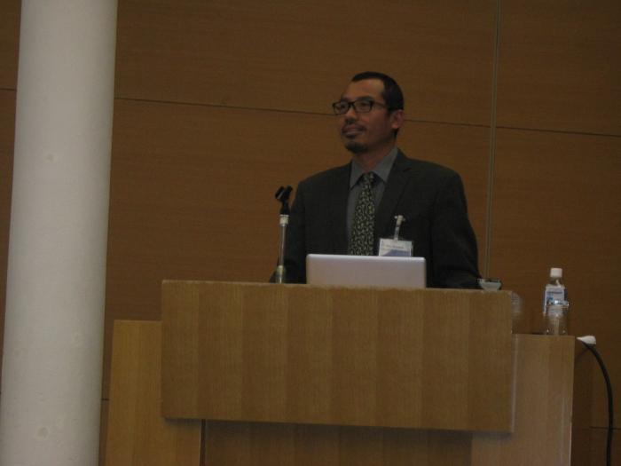 Prof. Heru Setyawan delivered presentation